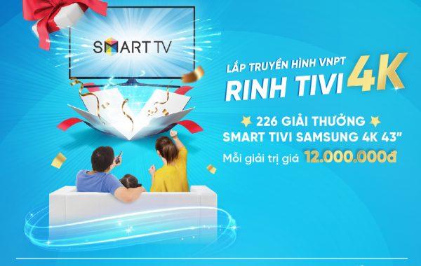 113 khách hàng VNPT trúng thưởng TV Samsung tổng trị giá hơn 1,3 tỷ đồng
