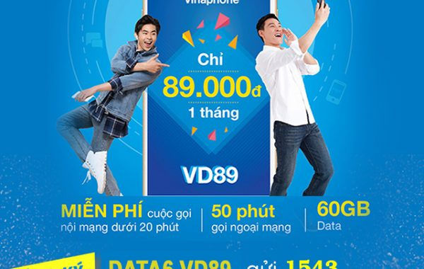 Vinaphone sẽ ngừng đăng ký mới gói VD89, VD129 và VD89P