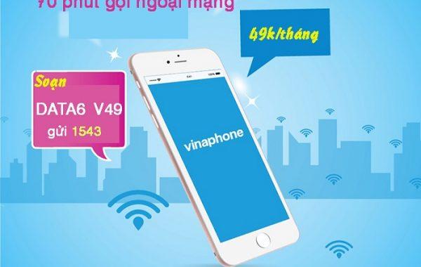 Cách đăng ký gói V49 Vinaphone có 1070 phút gọi miễn phí chỉ 49K