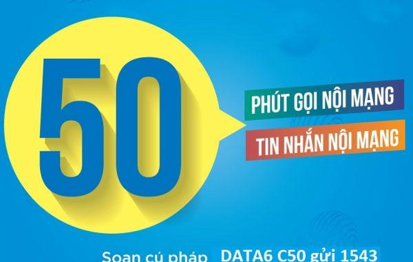 Cách đăng ký gói cước C50 VinaPhone có 50 phút gọi và 50 SMS