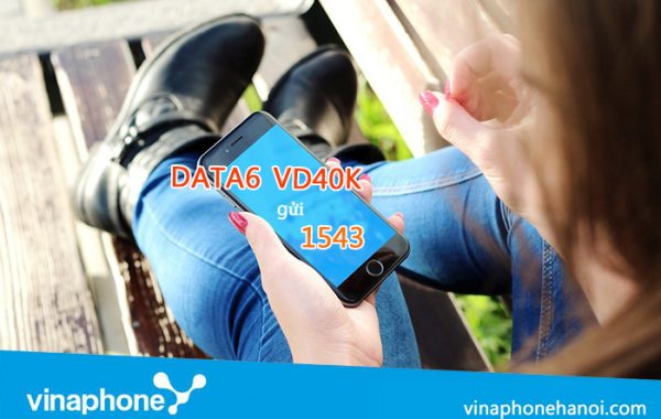 Đăng ký gói VD40K VinaPhone chỉ 40k có ngay 30G, gọi nội mạng miễn phí