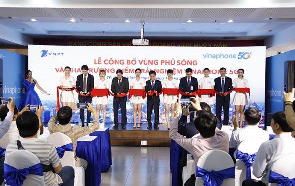 VNPT chính thức công bố vùng phủ sóng VinaPhone 5G tại Hà Nội và TP. Hồ Chí Minh